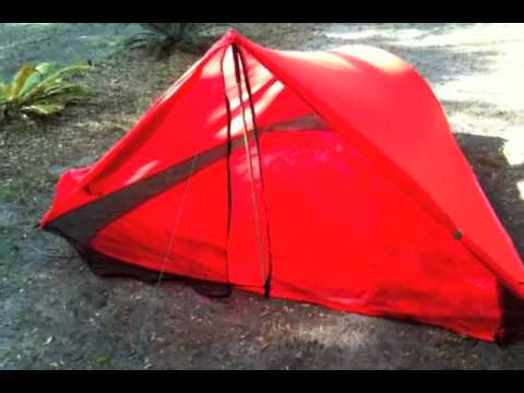 homemade tarp tent & homemade tarp tent - YouTube