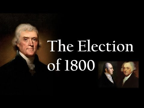 The Election of 1800 - YouTube