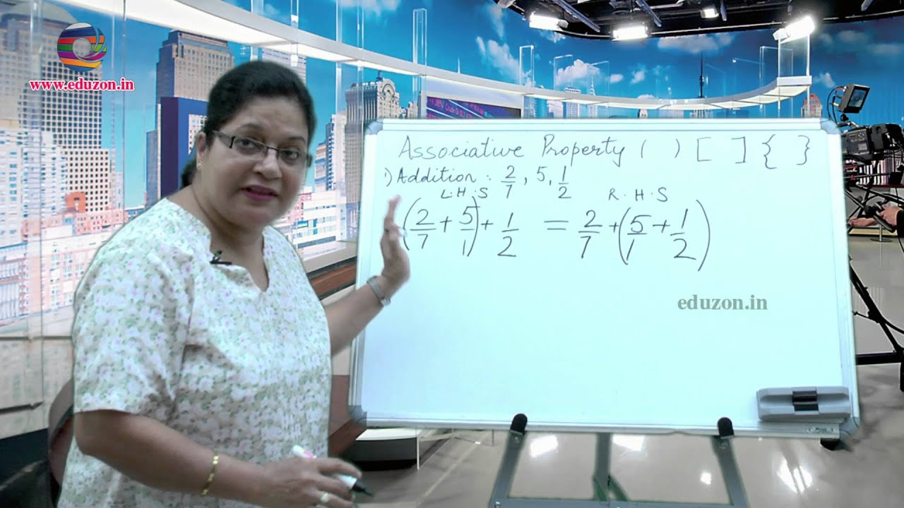 Rational Numbers - Associative Property- 8th Class- Mathematics ...