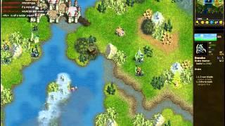Ricemuncher Vs Bonobo - Loyalists Vs Dragons - Replay Of Battle For Wesnoth Ladd