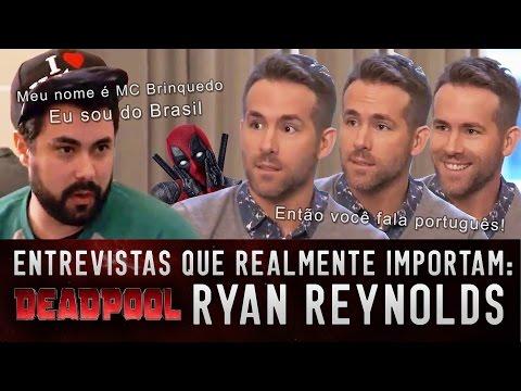 ENTREVISTA: DEADPOOL - RYAN REYNOLDS - Premiere de Londres