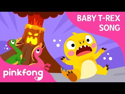 the-volcano-is-erupting-|-baby-t-rex-songs-|-dinosaur-songs-|-pinkfong-songs-for-children