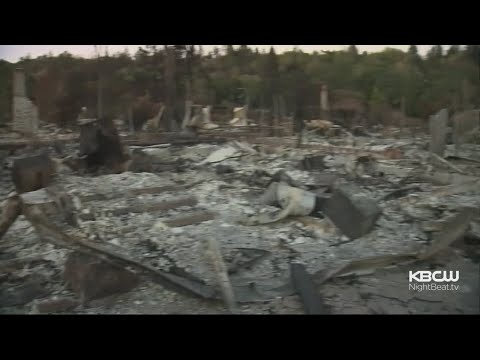 Homes Burned In Northern California Wildfires Become Hazardous Waste