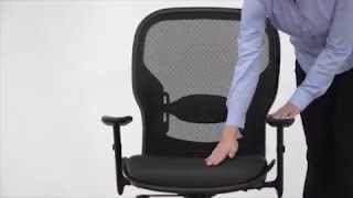 Leather Ergonomic Manager's Chair | Office Star Space | National Business Furniture