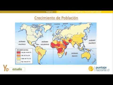 Características Demográficas y Diversidad Cultural en el mundo actual