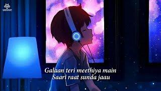 Gallan Teri Mithiyan Main Saari Raat Sunta Jau Full Song With Lyrics Arijit Singh | Dil Na Jaaneya