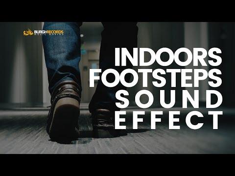 Footsteps indoors sound effect | BurghRecords (Sound, Sound Effects, Free Sound Effects) WAV