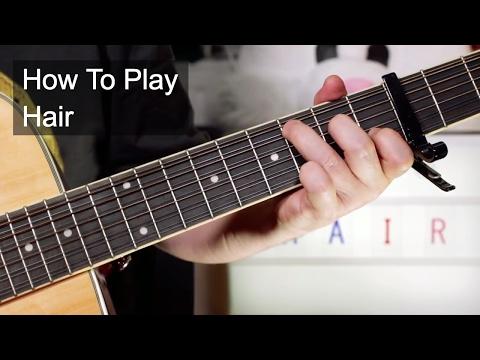 'Hair' The Cowsills Guitar Lesson