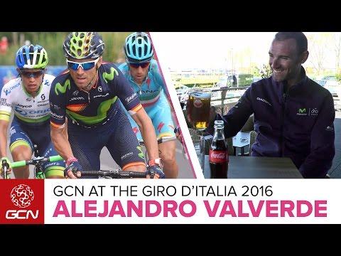 Alejandro Valverde Interview – Catching Up With Valverde At The Giro D'Italia (En Español)