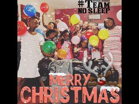 TSG CHRISTMAS SLEEP OVER‼️😍🎅🏻❄️☃️