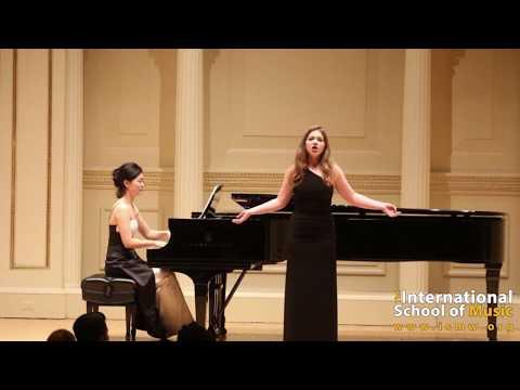 International School of Music in Bethesda performs at Carnegie Hall
