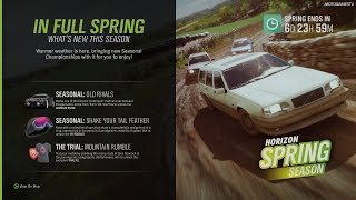 Forza Horizon 4 - Spring Season Change (January 10) [4K]