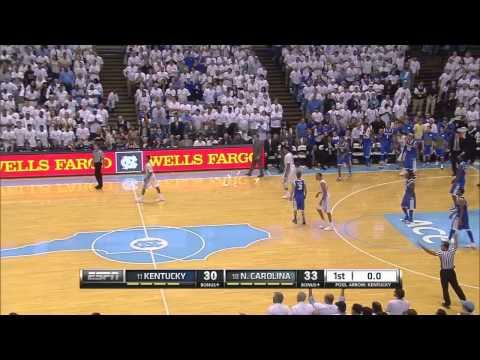 UNC Men's Basketball: Highlights vs. Kentucky