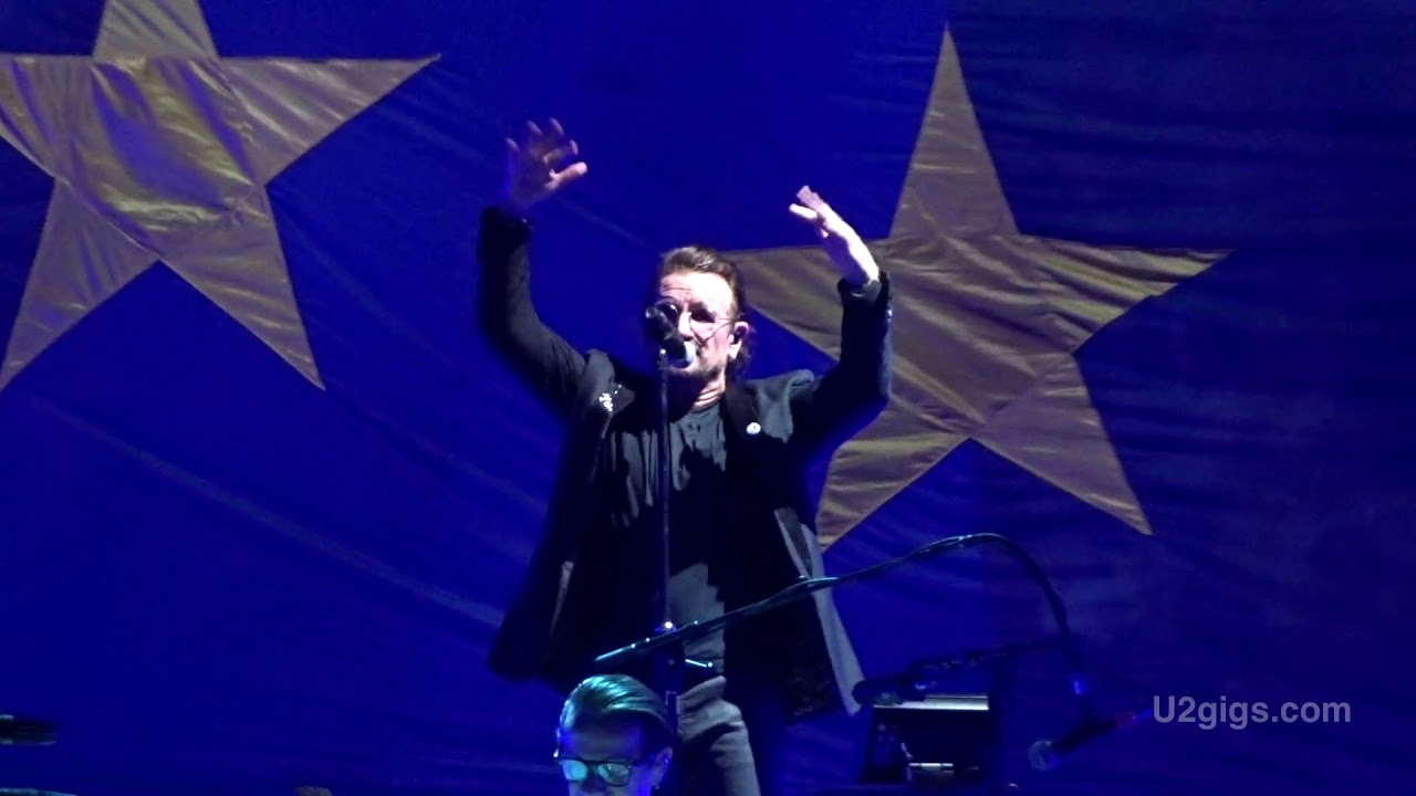 U2 Hamburg New Years Day 2018 10 03 U2gigscom Youtube