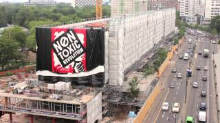 Non Toxic Revolution Takes Over Berlin with Street Art, Murals, Education and Exhibition Launch