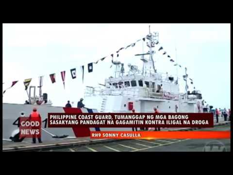 GOODNEWS:  PHILIPPINE COAST GUARD, TUMANGGAP NG MGA BAGONG SASAKYANG PANDAGAT