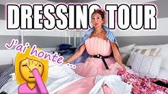 JE TRIE (ENFIN) TOUT MON DRESSING + DRESSING TOUR | C'ÉTAIT UN DÉSASTRE 😰