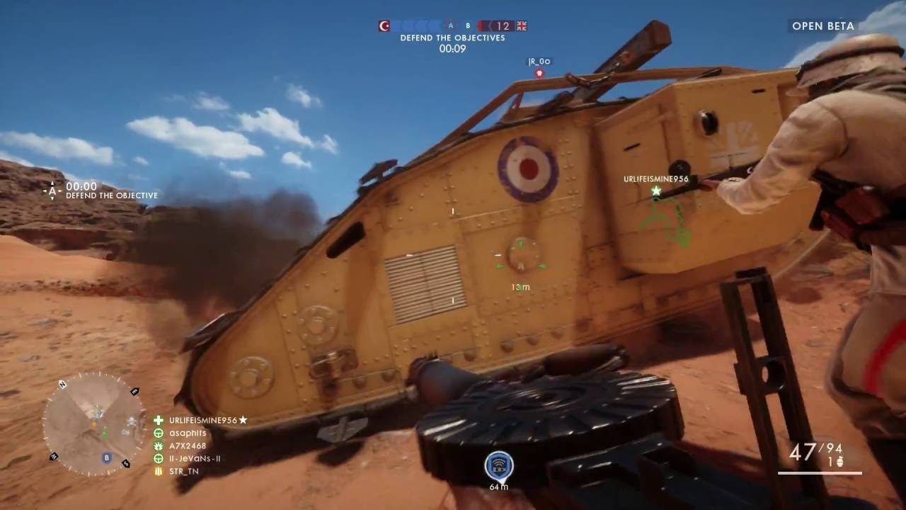 Download Battlefield 1 Beta Lets Play with STR Ep. 1: Sensitivity Options