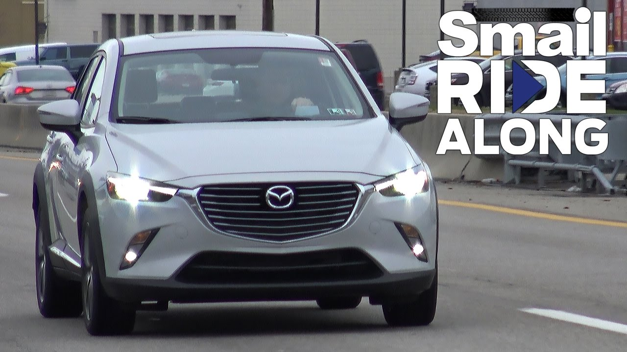2017 mazda cx-3 grand touring - smail ride along - virtual test