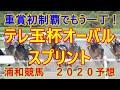 テレ玉杯オーバルスプリント【浦和競馬2020予想】重賞初制覇でもう一丁!
