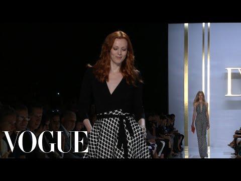 Show Review: Diane von Furstenberg Spring 2015