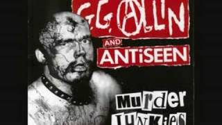 GG Allin & Antiseen - I Hate People