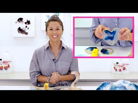 How To Make Resin Geode Art
