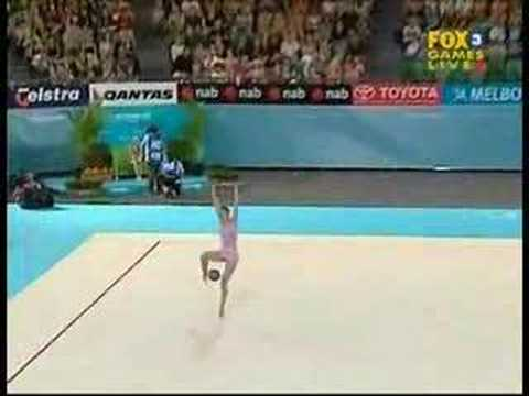 Carly Orava 2006 Commonwealth Games Ball Team Final