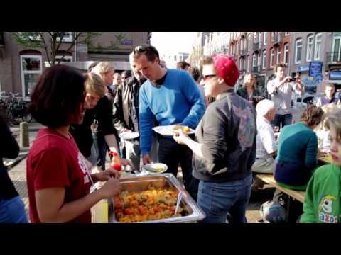 AMSTERDAM -- 5TH OF MAY STREET DINNER