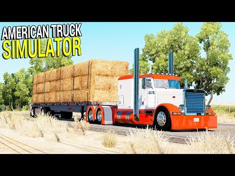 Let's Build a New Truck & Haul Heavy Cargo | American Truck Simulator Gameplay