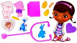 Play Doh Doc Mcstuffins Doctor Kit Playset Disney Junior Playdough Doctora Juguetes