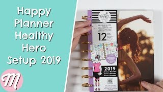 The Happy Planner Healthy Hero Setup 2019 | Classic Edition