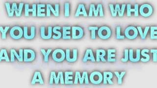 Train - Just a Memory Lyrics