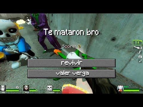 LEFT 4 DEAD 2 Es mas DIVERTIDO con MODS