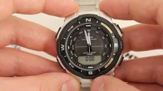 casio Outgear SGW-500HD-1B SGW-500HD-1BER - Инструкция, Как настроить от PresidentWatches.Ru