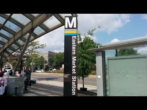 Eastern Market Metro Station - Washington DC Metro Blue/Orange/Silver lines