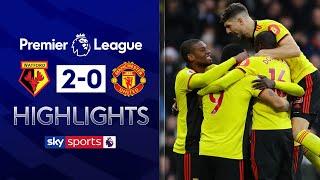 De Gea's howler helps Watford win | Watford 2 - 0 Manchester United | Premier League Highlights
