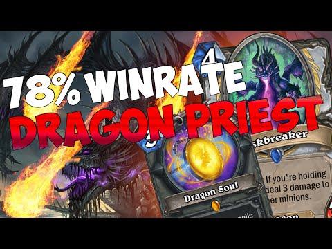 78% WINRATE - DRAGON PRIEST E' CRUDELE!! [HEARTHSTONE ITA]