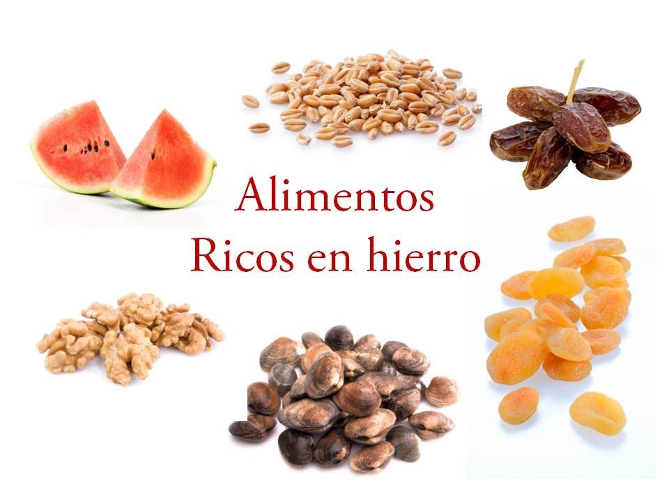 Alimentos con hierro youtube for Productos con hierro