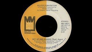 Silver Convention ~ Get Up & Boogie (That's Right) 1976 Disco Purrfection Version