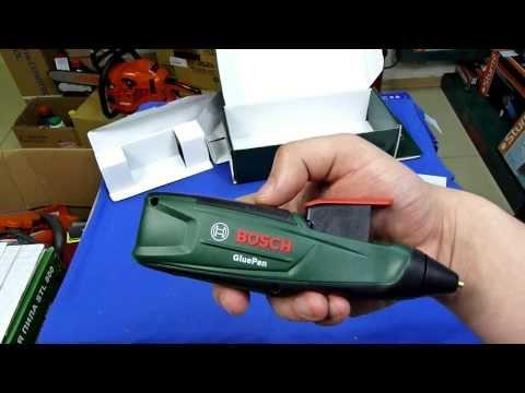 Видео обзор: Пистолет клеевой BOSCH GluePen