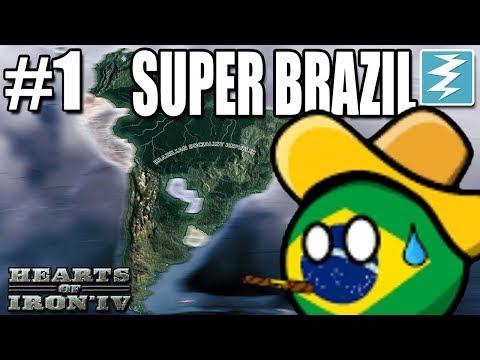 WORLD RECORD IDEOLOGY CHANGE 1 Super Brazil - Hearts of Iron IV