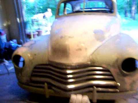 1948 Chevy Stylemaster Ratrod Update Kustom Bobbed Fenders