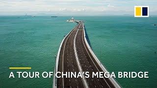 A tour of the Hong Kong–Zhuhai–Macau mega bridge