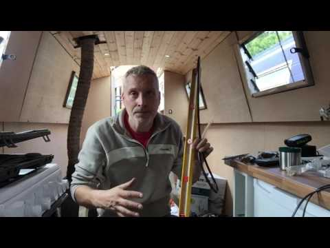 Ed's narrowboat Ep.18 gassing up the cooker.