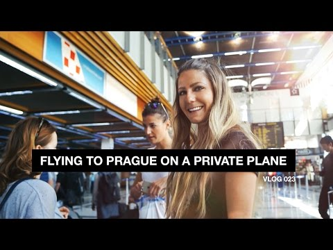 Flying to Prague on a Private Plane - Vlog 023