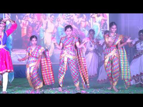 Colours of India Dance performance by Grade 6 & 7