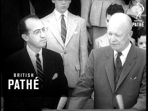 President Honours Dr Salk Aka Dr Salk Honoured (1955) - YouTube