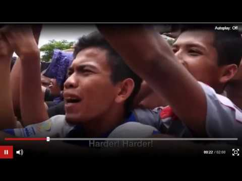 Indonesia: Gay Couple Publicly Caned Under Aceh Region's Sharia Law