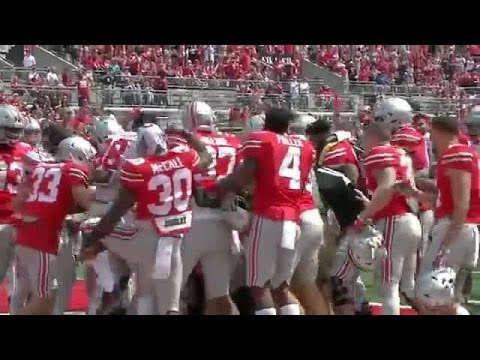 Jake Jarvis scores final touchdown of OSU Spring Game